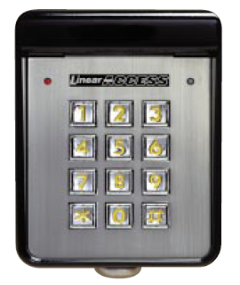 Linear_AM KP_Wired_Exterior_Keypad 240x285 linear am kp keypads linear access control keypads am kp entry system  at alyssarenee.co