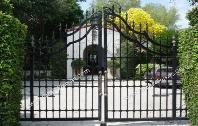 Entry Gates, Aluminum or Wrought Iron Entry Gate, Automatic or Electric Driveway Entry Gate Designs