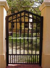 Ornamental Gate Ornamental Metal Gate Ornamental Garden Gate Aluminum Ornamental Gate