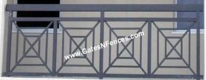 Aluminum Railing Decorative Metal Railing Wrought