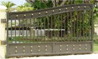 Modern Driveway Gate Design, Strong made with Security in mind