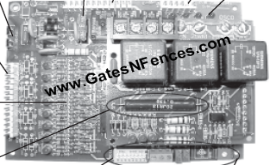 OSCO Main Circuit Control Boards and Control Panels for Gate Openers and Operators
