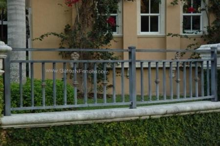 Residential Garden Fence Panels Designs Iron