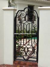 Metal Steel Gate Metal Garden Gate Metal Decorative Gate
