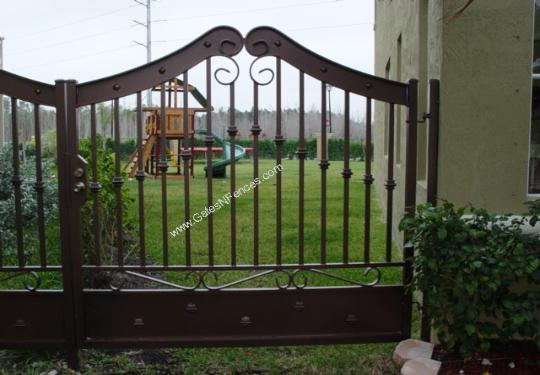 Garden Gate Designs Iron Gates Aluminum Custom