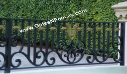 Fence Railings Guard Rails Aluminum Metal Deck Fence Guard Rails