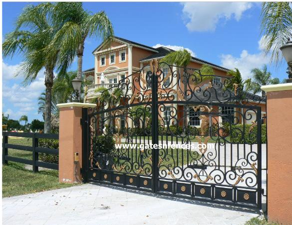 Estate Gates,Custom Gates,Driveway Entrances,Custom Gate