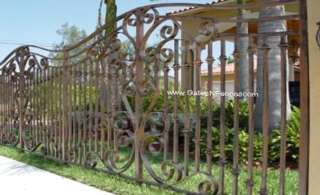 Metal Garden Fence, Metal Decorative Fence, Metal Iron Fence, Metal Privacy  Fence,