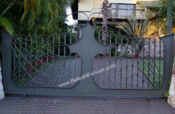 Driveway Gate Entrance Ideas, Security Entracne Ideas, Iron Gate Entrance Idea, Aluminum Gate Entrance Ideas, Custom Design Entrance Ideas