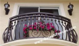 Decorative Railings Custom Aluminum Hand Railings Metal Hand Railing