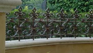 Garden Fencing | Steel Garden Fencing | Ornamental Iron Garden Fencing |  Home Metal Garden Fencing