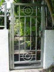 Modern Aluminum Gate Modern Garden Gates