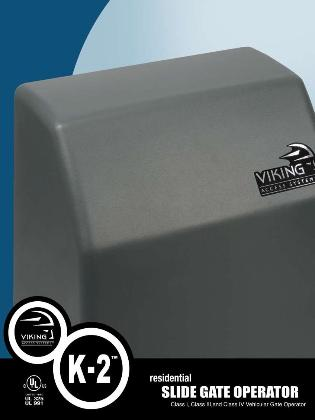 Viking K2 Slide Residential Gate Opener Sliding Residential Gate Operator