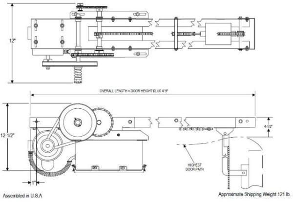 wiring diagram for overhead door wiring image garage door opener block diagram jodebal com on wiring diagram for overhead door