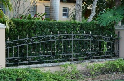 Picket Fences Aluminum Fence Wrought