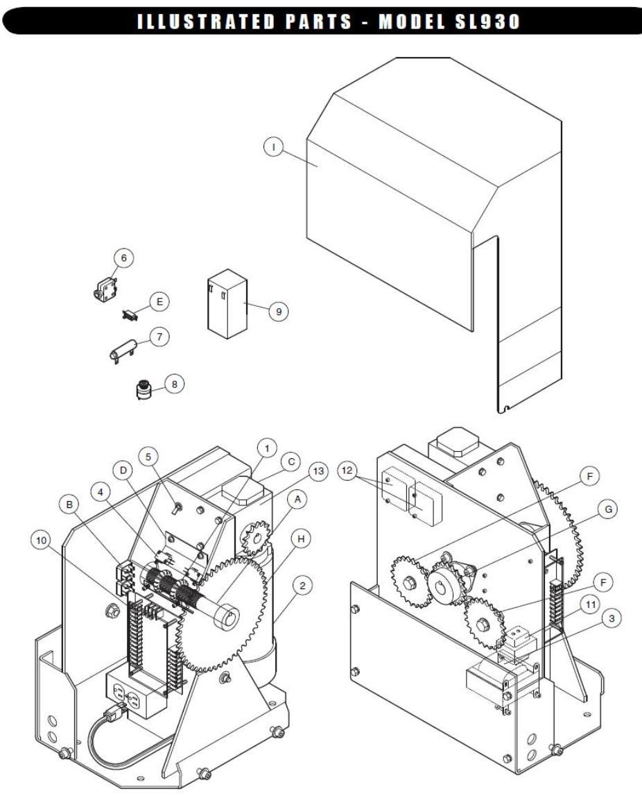 Liftmaster Slide Gate Opener Parts Reviewmotors Co