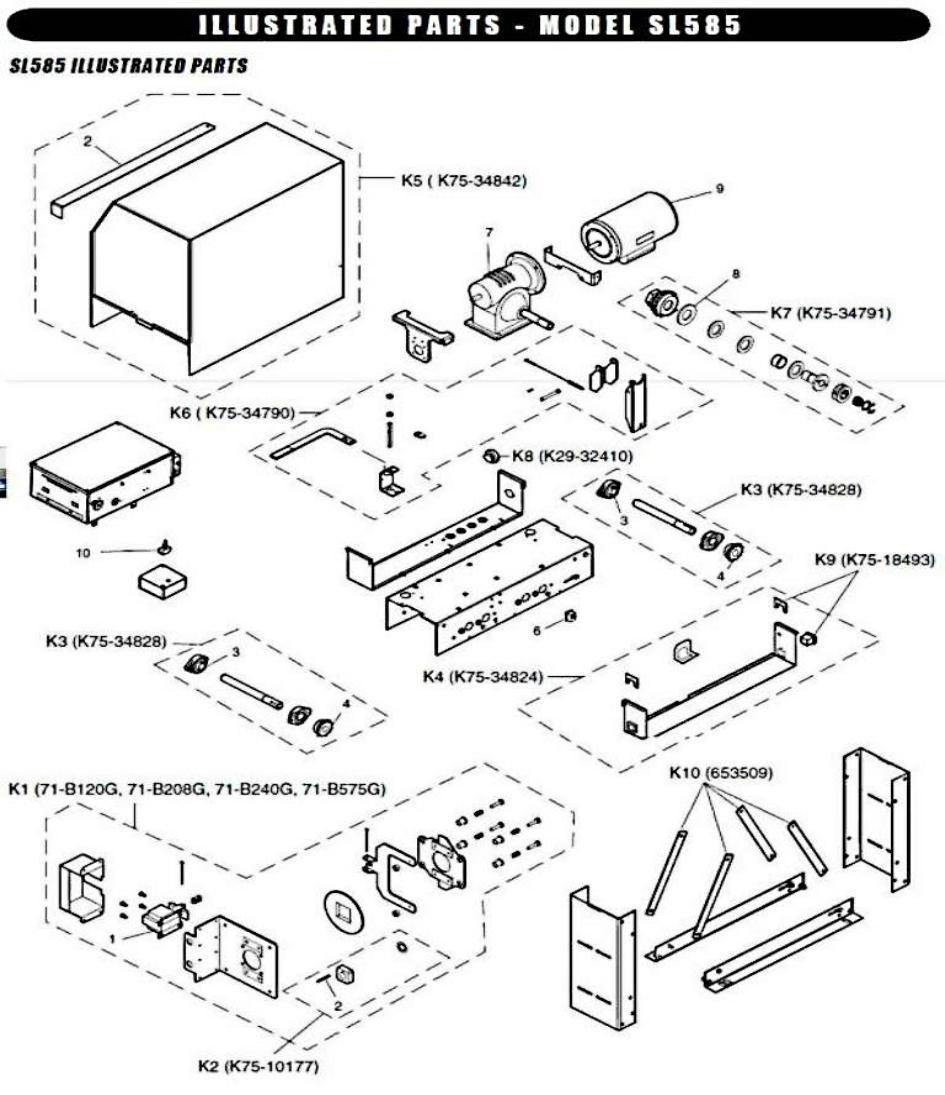 liftmaster parts sl585 part liftmaster parts